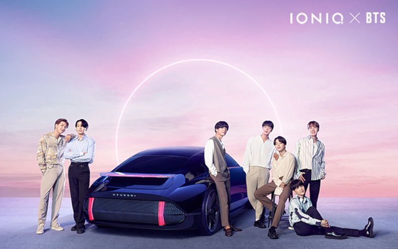 Hyundai und K-Pop-Band BTS bringen IONIQ-Song heraus: I'm On It